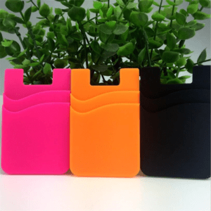Back Cover Double Card Holder Pouch For Cell Phone 06